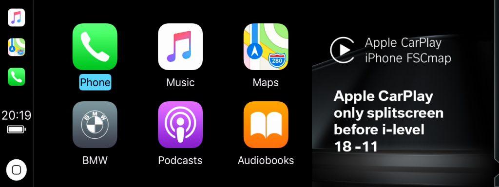 Old version of Apple CarPlay
